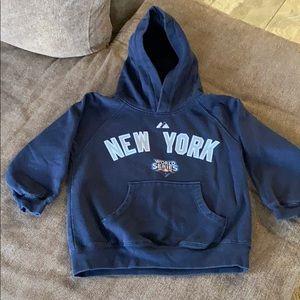 Kids 2009 WS Sabathia NY Yankees Hoodie